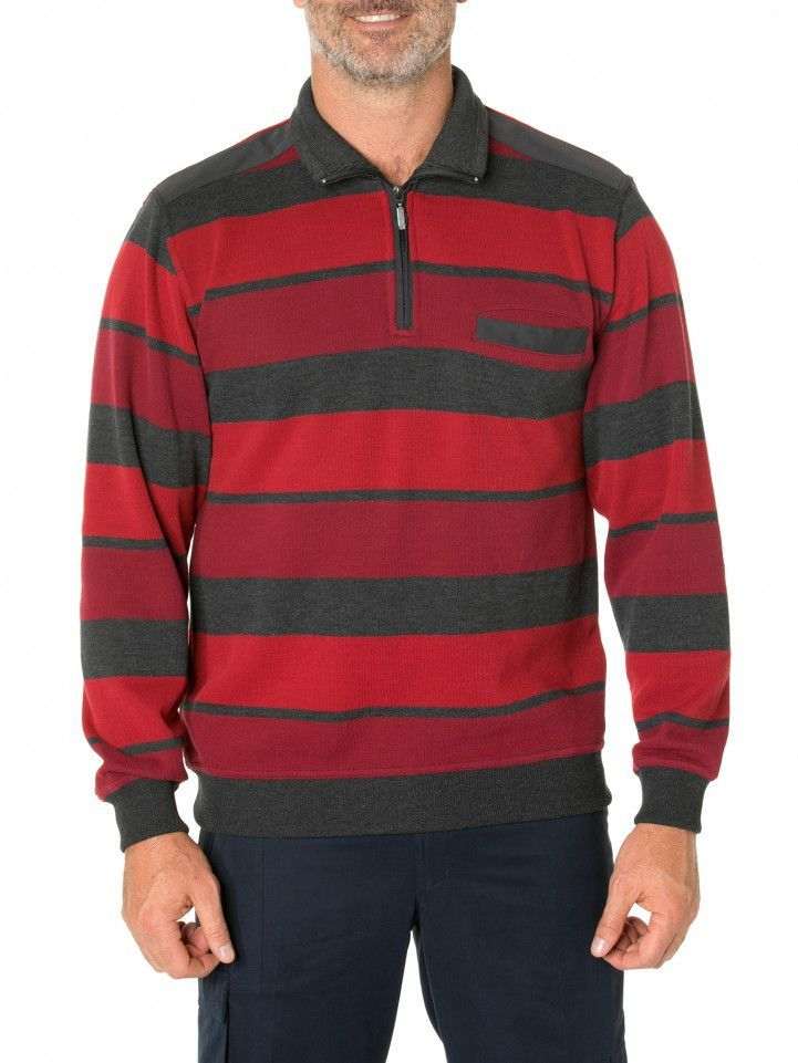 Hugo French Rib Half Zip