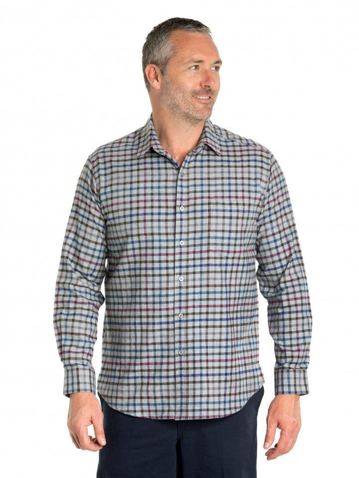 Elwood Cotton Brush Shirt