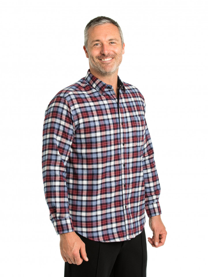 Per Cotton Brush Shirt