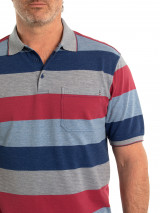 Falon 60/40 Tuck Stitch Polo