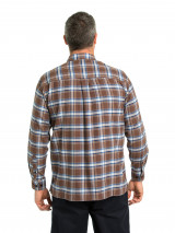 Bede Cotton Brush Shirt