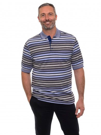 Cotton Tuck Polo