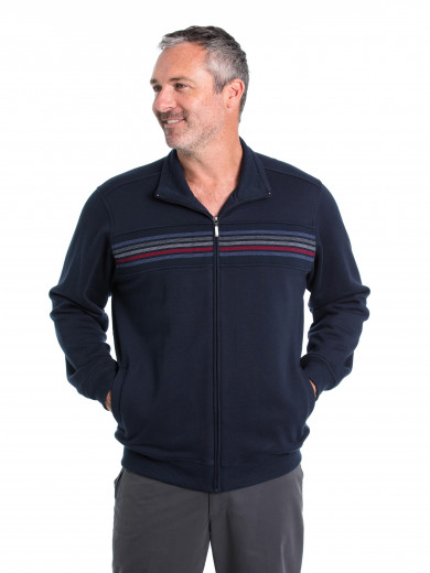 Lando Snowy Mt Fleece Jacket