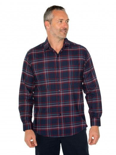 Aaron Cotton Brush Shirt