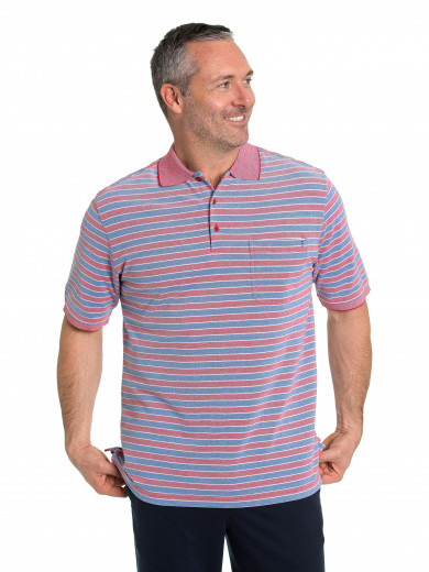 Eli Cotton Tuck Polo