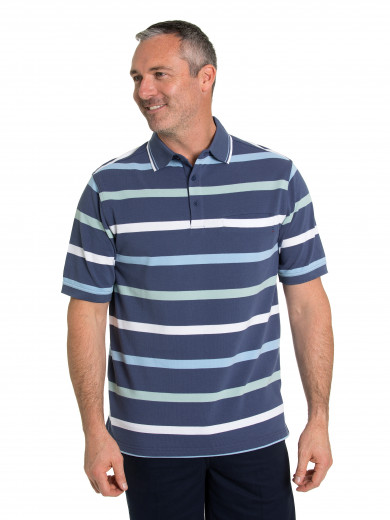 Ben Tuck Stitch Polo