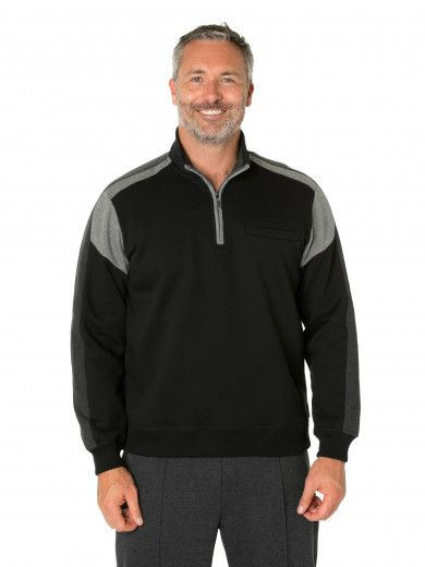 Mike Snowy Mt Fleece Half Zip