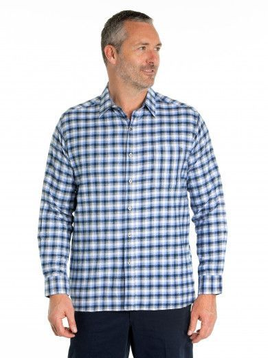 Edwin Cotton Brush Shirt