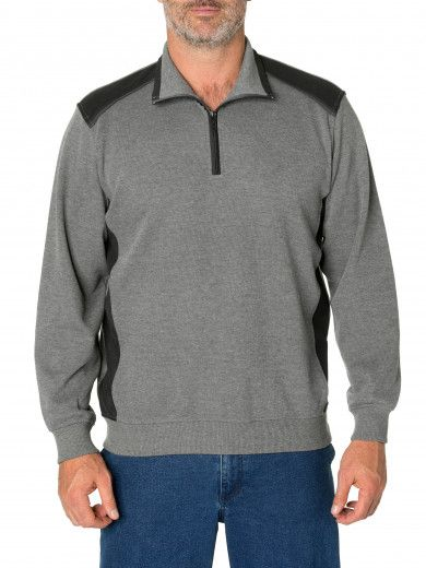 Theo French Rib Half Zip