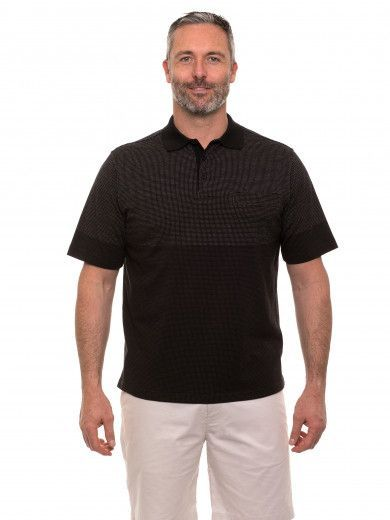 Tuck Stitch Polo
