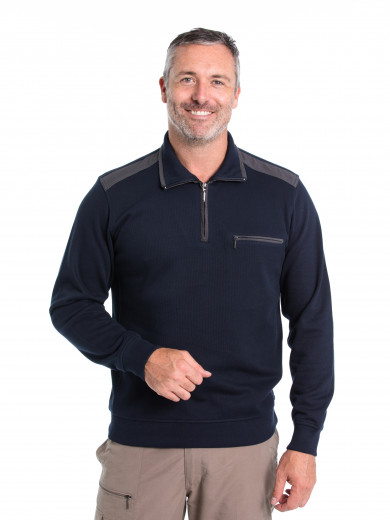 Henry French Rib Half Zip