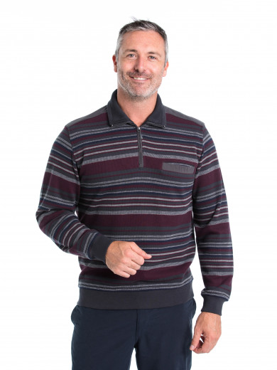 West French Rib Half Zip