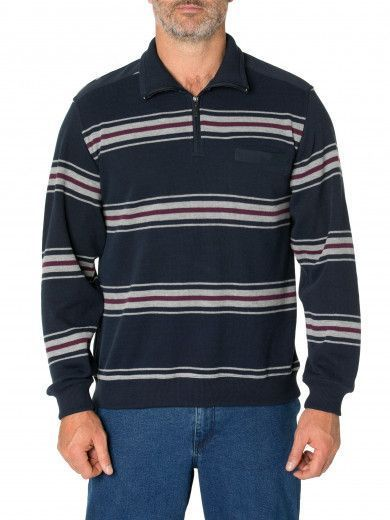 Luca French Rib Half Zip